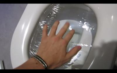 Lift Up Toilet Seat